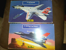 Heller F-16 Fighting Falcon & F-14 Tomcat Double Pack 1/144