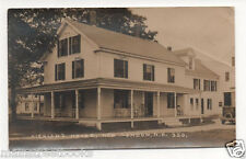 NEW LONDON N H 1931 New England Architecture Real Photo Postcard HIGHLAND HOUSE