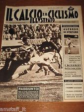 IL CALCIO E CICLISMO ILLUSTRATO 1959/11=HAMRIN=FIORENTINA=MILANO SAN REMO=