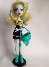 MONSTER HIGH DOLL Lagoona Blue Roller Maze Good Con