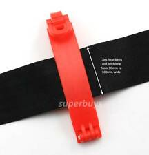 Seat Belt Automatic Auto Retraction Clip Buckle Stop Recoil Hold Retract Holder