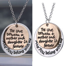 Women Fashion Gold Plated Pendant Necklace Chain Jewelry Great Mother's Love