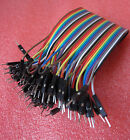 40PCS Dupont wire jumper cables 20cm 2.54MM male to male For Arduino