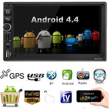 """Digical 7"""" 2 DIN Android 4.4 Car Auto MP3 MP4 Player Radio Bluetooth LCD DPS"""
