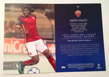 2016 Topps UEFA Champions League 5x7 GOLD (#/10 Made) GERVINHO AS Roma #122