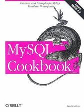 NEW - MySQL Cookbook by Paul DuBois