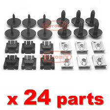 MERCEDES C CLASS W203 W204 ENGINE UNDERTRAY CLIPS SCREWS UNDER COVER SPLASHGUARD