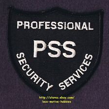 LMH PATCH Badge  PROFESSIONAL SECURITY SERVICES  Guard Watchman  PSS  Old Logo