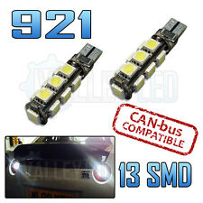 Civic FN2 Type R 05-15 Bright LED Reverse Light Bulb 921 W21W Canbus 13 SMD