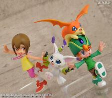 MegaHouse G.E.M Digimon TK Takeru Patamon Kari Hikari Tailmon Figure AUTHENTIC