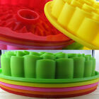 Candy 12Pcs cake Baking Muffin cups Daisy silicone Mold chocolate Bakeware Jelly
