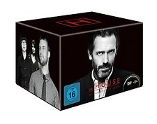 OMAR EPPS,ROBERT SEAN LEONARD HUGH LAURIE - DR.HOUSE GESAMTBOX 46 DVD NEU
