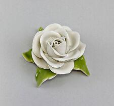 Porzellan Weiße Tischrose  Kämmer Thüringen 9944133