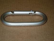 Beats by Dre Carabiner Belt Clip D-Ring Keychain Snap Hook Loop Hanger - Silver