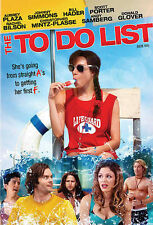 The To Do List (DVD, 2013, Audio English & Francais)
