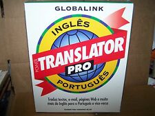 GLOBALINK POWER TRANSLATOR PRO PORTUGUES CD-ROM WINDOWS 95/NT- VINTAGE