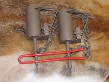 2 Powder Coated Duke DP Dog Proof Coon Traps & DP setterTrapping Raccoon