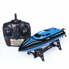 Babrit Tempo H100 2.4G 4CH Remote Control Speed boat Electric RC Boat-Blue