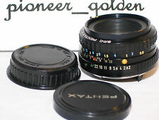 PENTAX SMC A 50mm 1:2 LENS for Pentax 35mm SLR,DSLR Camera w/original caps