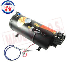 NEW 150PSI DC 12V TRUCK PICKUP ON BOARD AIR HORN AIR COMPRESSOR & 3 LITER TANK
