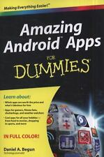 Amazing Android Apps For Dummies, Begun, Daniel A., Good Condition, Book