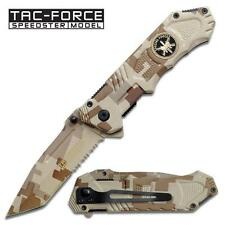 Tac Force Special Forces Tactical Military Combat Spring Assisted Pocket Knife