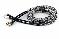 KnuKonceptz Krux Kable 4M Interlaced 3D Copper Twisted Pair RCA Cable 13Ft
