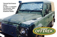 Land Rover DEFENDER CAB Internal Screens - Set of 3pcs - Expedition German made
