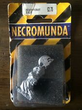 Necromunda Redempionist Zealot With Giant Axe New In Blister Metal Warhammer