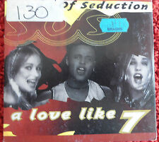 CD.   Sound Of Seduction / A Love Like 7 / 3 tracks Cd / Made in Denmark