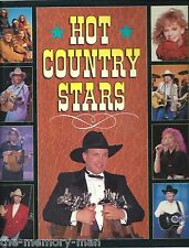 Hot Country Stars color pictures photos Garth Brooks George Strait 1993
