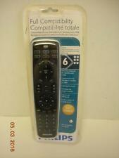 NEW Philips SRU5106/27 6 Device Universal SAT CABLE Full Remote Control