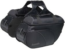 Tourmaster Nylon Cruiser 3 Slant Motorcycle Saddlebags -MD