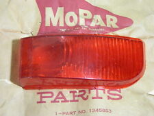 NOS Mopar 1951-52 Plymouth P22 Concord Right Taillight Lens