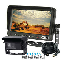 "Excavator 7"" Digital Car Rear View Backup System With Automatic Shutter Camera"