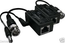 CAT5 BNC To RJ45 Converter Video Balun for CCTV - Power ,video, audio,PTZ Camera