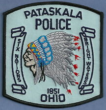 PATASKALA OHIO POLICE PATCH INDIAN