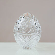 Victoria Crystal egg-pack 24% PIOMBO TAGLIO CRISTALLO 100% Fatto a Mano Chiaro