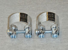 "Ducati  Bevel  Twins  Conti  "" R ""  Exhaust  Clamps,  750gt  750ss 900ss Muffler"