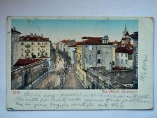 ZARA Via Nicolò Tommaseo DALMAZIA AK vecchia cartolina