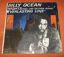 "Billy Ocean 45 Giri "" NIGHTS-EVERLASTING LOVE "" GTO"