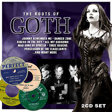 THE ORIGINS OF GOTH MUSIC New Sealed 2017 2 CD SET