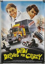 (A39) Gerollt/Filmpl. Dieter Hallervorden DIDI DRIVES ME CRAZY 1985 Didi auf vol