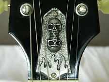 SKULL TRUSS ROD COVER fits GIBSON SG LES PAUL GUITAR CUSTOM HAND MADE METAL!
