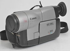 CANON UC-V10HI Hi8 VIDEO CAMERA / CAMCORDER
