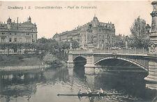 Ak, Wk1, Straßburg, Universitätsbrücke,  (N)1691