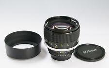 Nikon NIKKOR 85mm f/1.4 Ai-S Lens Excellent