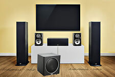 Polk Audio FUSION T-50 Dolby Cinema Theater 5.1 Pack With 10 Inch Powered Woofer