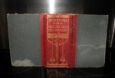Mrs Beeton's Book of Household Management- New Edition- DATED 1907