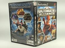 Marvel Ultimate Alliance (Playstation 2 PS2) Complete Tested/Works!